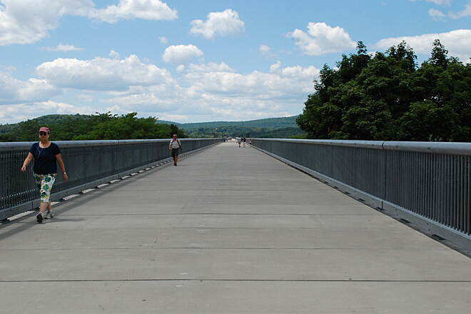 Walkway Over The Hudson Bridge