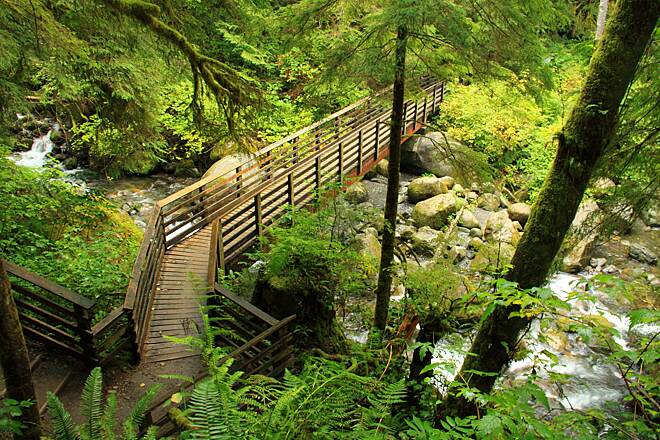 Wallace Falls Railway Trail Bridge