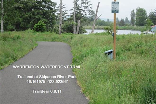 Warrenton Waterfront Trail WARRENTON WATERFRONT TRAIL This heads up to the marina