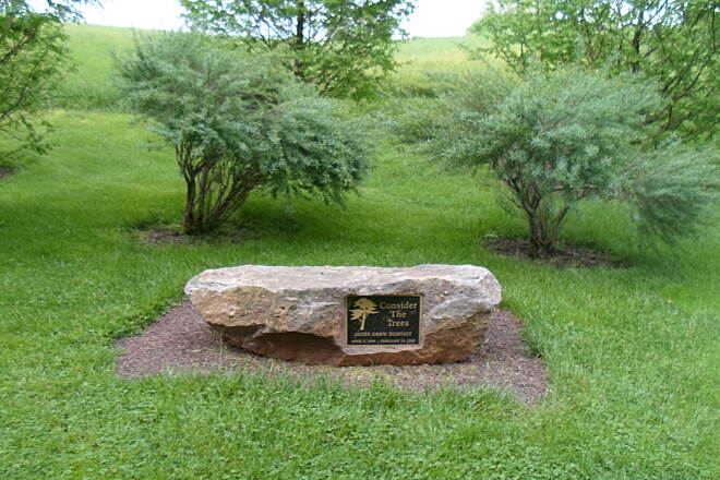 Warwick Township Linear Park Trail Warwick Twp. Linear Park Trail This monument is near the northern end of the trail.