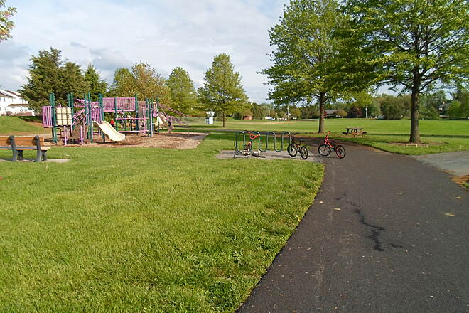Warwick Township Linear Park Trail Warwick Twp. Linear Park Trail These playgrounds are near the trail's southern terminus on the north end of Lititz.