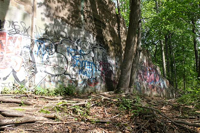 West Essex Trail  Graffitti