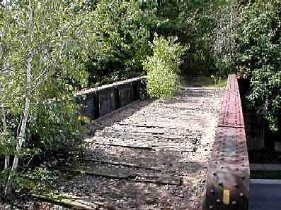 West Essex Trail Trail Bridge over Rt 23 (Pompton Ave)