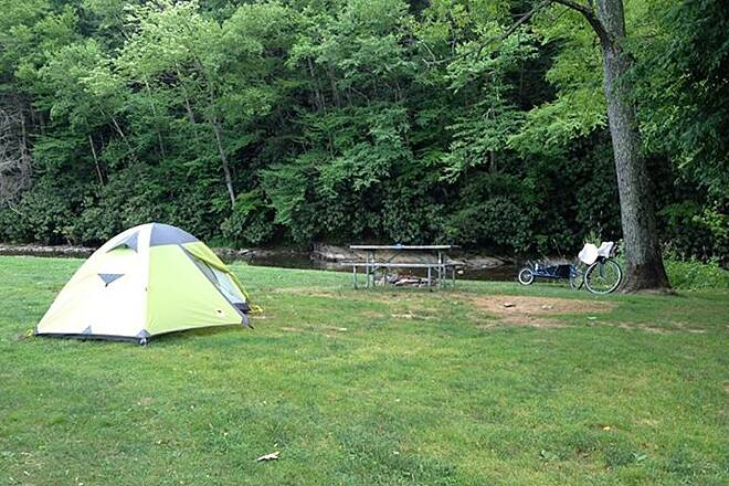 West Fork Trail Campground in Durbin.