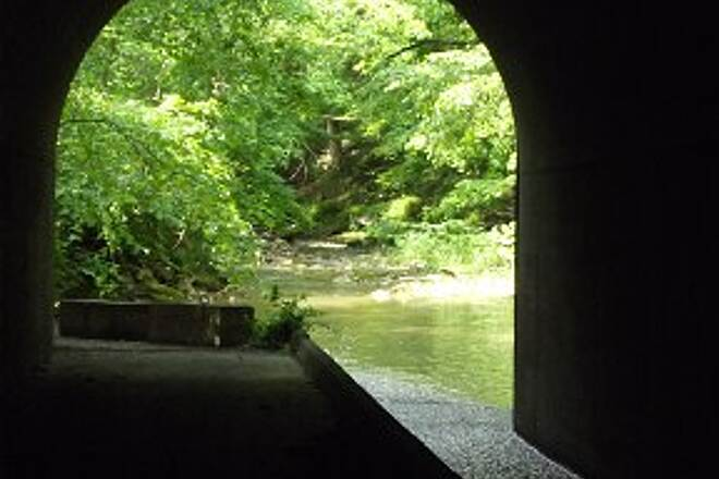 West Penn Trail Culvert at Elders Run