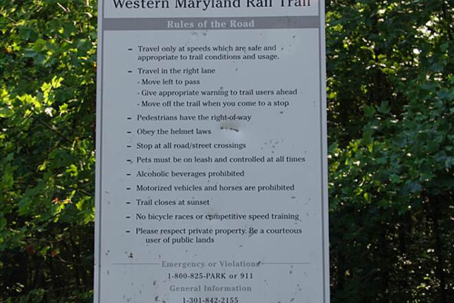 Western Maryland Rail Trail Rules of the Road Rules of the Road