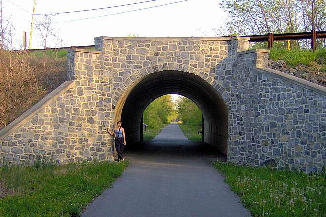 Western Maryland Rail Trail Stone Bridge, Ernstville Rd
