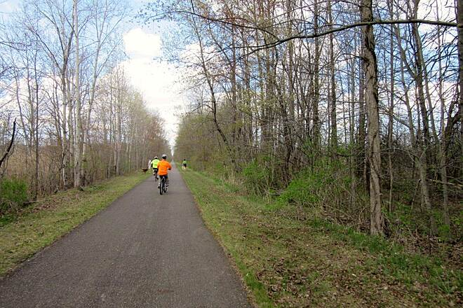 Western Reserve Greenway Trail  Trail-April 2015