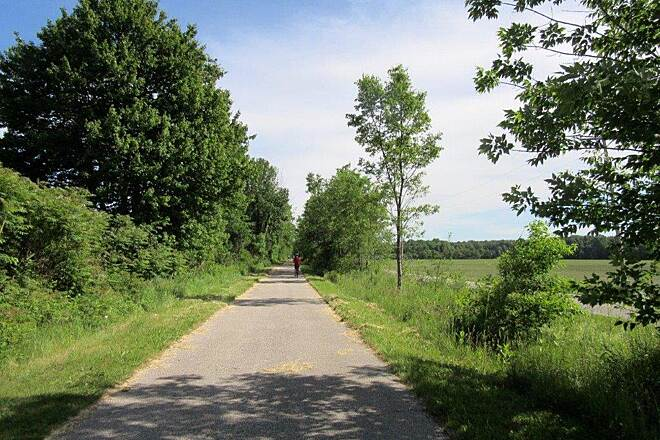 Western Reserve Greenway Trail-June 2015 Along the Trail, just North of North Bloomfield