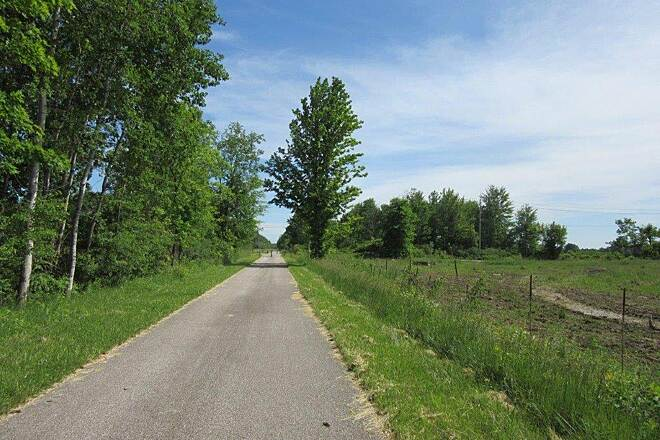 Western Reserve Greenway Trail Along the trail. June-2015