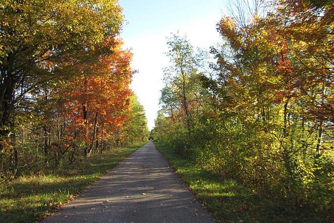 Western Reserve Greenway Fall along the trail Fall foliage-October, 2015