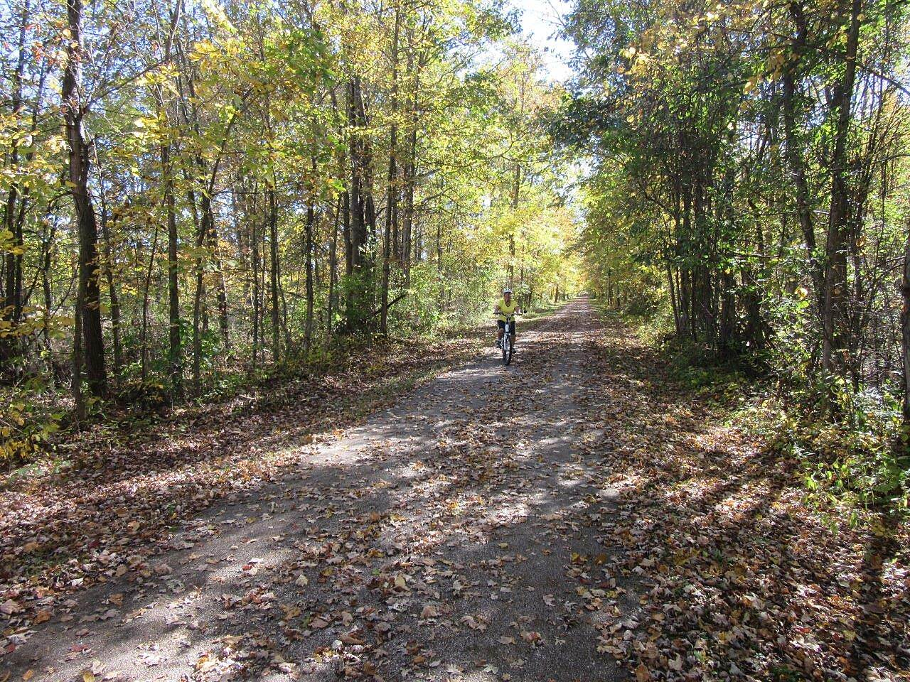 Western Reserve Greenway Fall ride Enjoying the fall ride