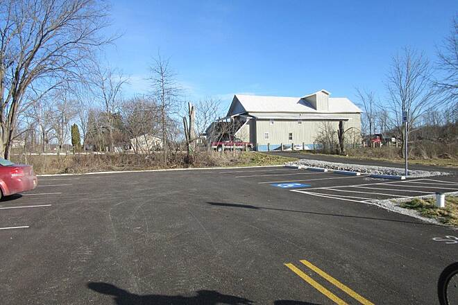 Western Reserve Greenway New Parking Lot! New Paved parking lot for 10 vehicles, including handicapped spot.  Located in North Bloomfield on Route 87, Kinsman Road NW.