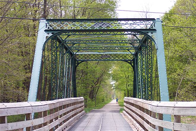 Western Reserve Greenway Bridge over Clay Street Just North of Austinburg Western Reserve Green Way / Ashtabula Ohio