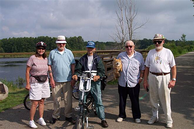 Western Reserve Greenway WWGW Riders 'The Recumbent Riders' Ride in The Reserve