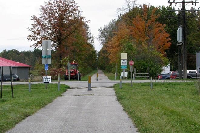 Western Reserve Greenway Crossroads A crossroad
