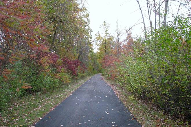 Western Reserve Greenway Trail trail