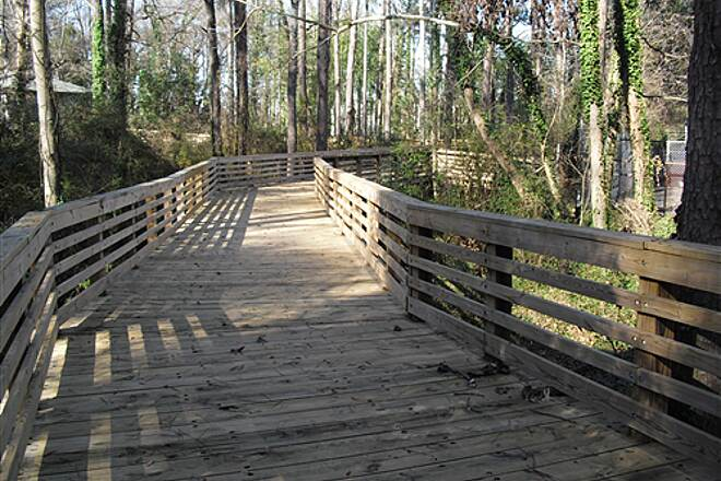 Whetstone Creek Trail w Boardwalk