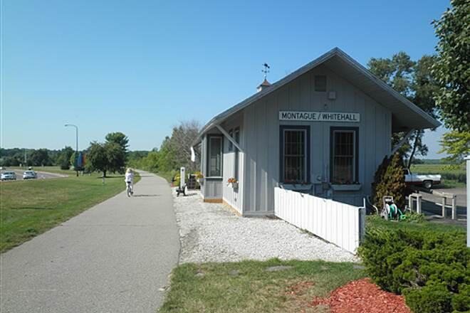 White Lake Pathway White Lake Pathway Former Depot, now Chamber of Commerce office