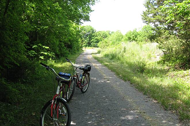 Wilderness Road Trail quick stop may 23, 2009 trail is well maintained and easy to ride