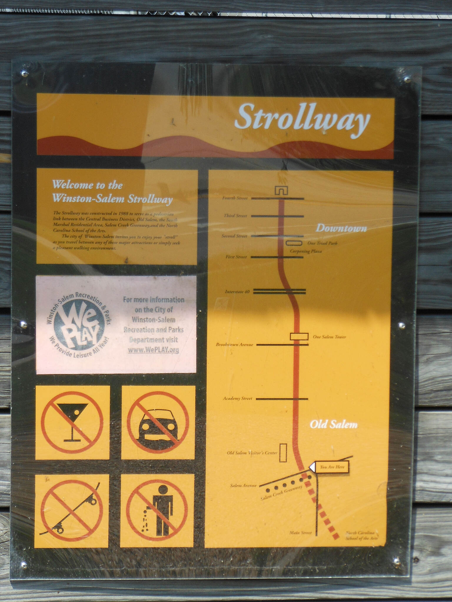 Strollway WinstonSalem NC WinstonSalem Strollway 41103