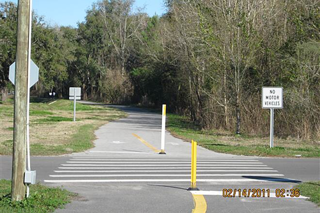 Withlacoochee State Trail   Brooksville's 'Good Neighbor Trail' will join the Withlacoochee from the west.