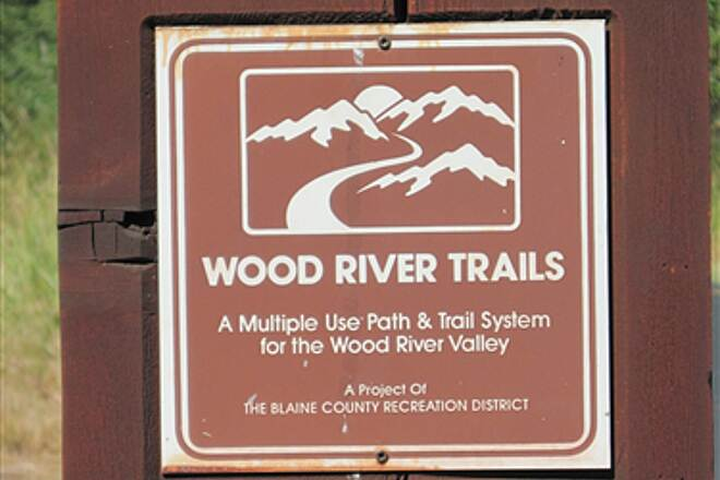 Wood River Trail WOOD RIVER TRAIL SYSTEM One of the trail signs.  Trail is well marked.