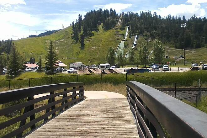 Yampa River Core Trail Howelson Park Ski jumps, alpine slides, tubing. Summer and winter activities.